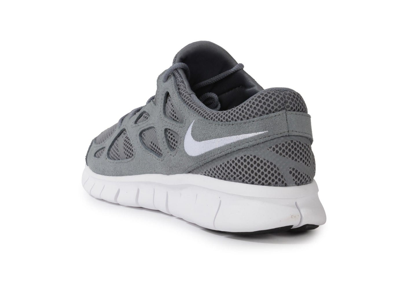 best cheap 4aa6a 39213 ... Chaussures Nike Free Run 2 Grise vue arrière ...