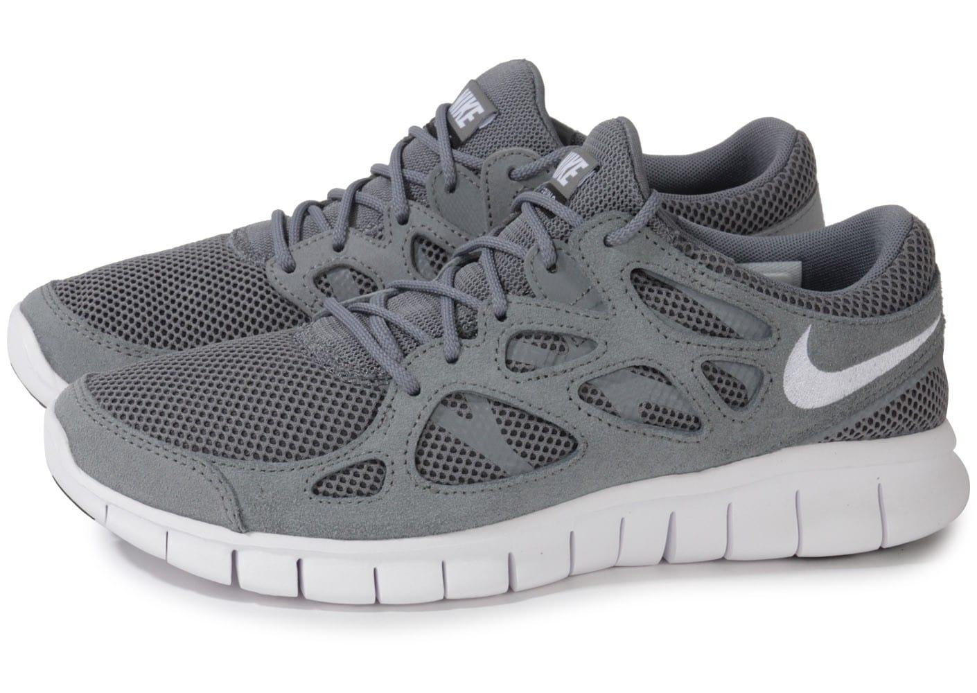taille 40 f9407 cf95c Nike Free Run 2 Grise - Chaussures Baskets homme - Chausport