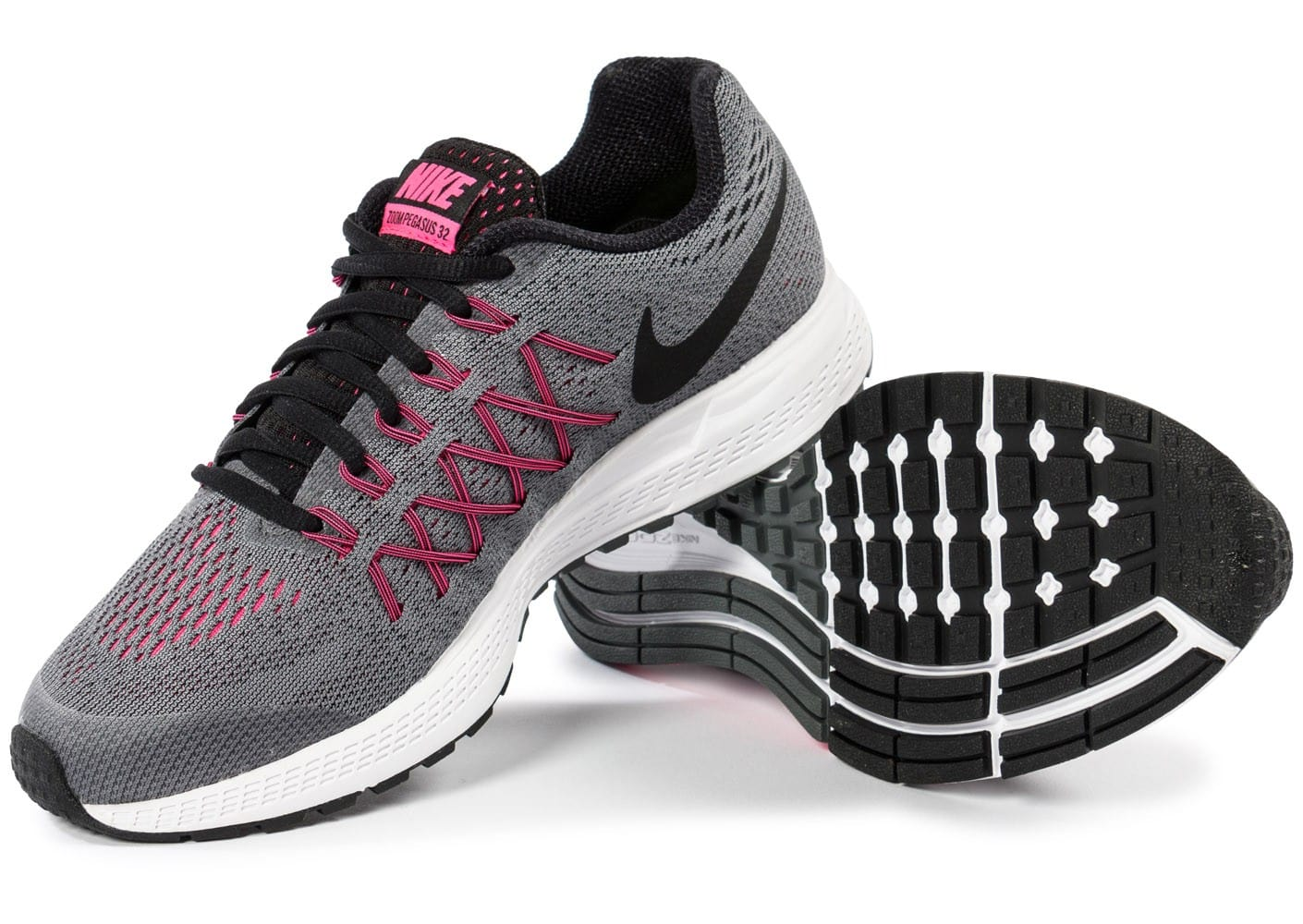 Nike Zoom Pegasus 32 Junior grise Chaussures Chaussures