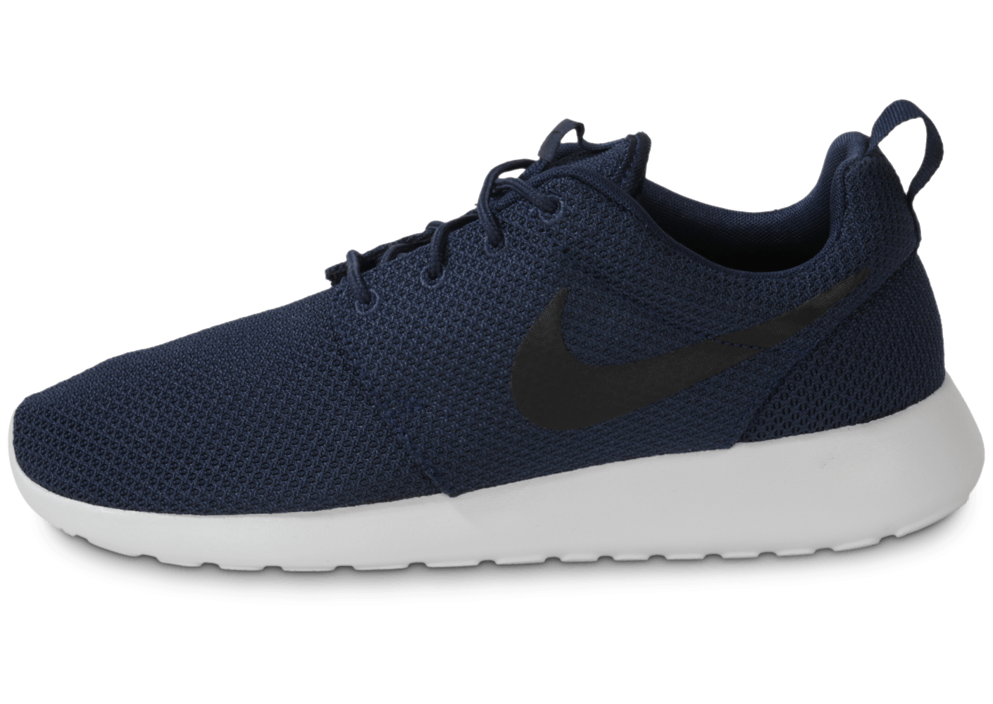 on wholesale sports shoes later Nike Roshe Run Bleu Marine - Chaussures Baskets homme - Chausport