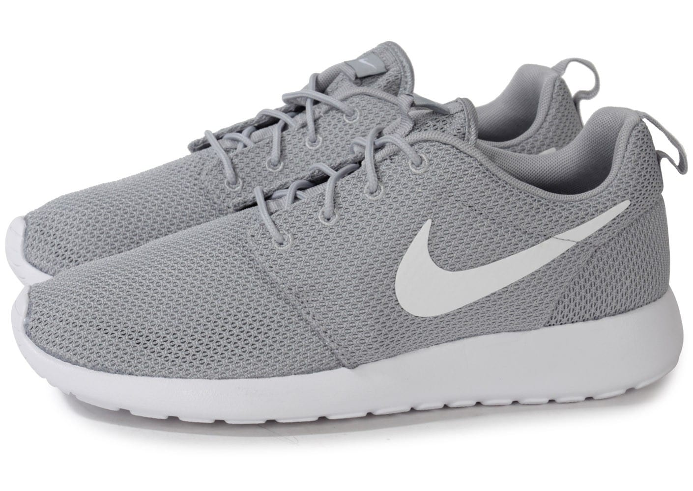 énorme réduction 137f2 9ebbf Nike Roshe Run grise - Chaussures Baskets homme - Chausport