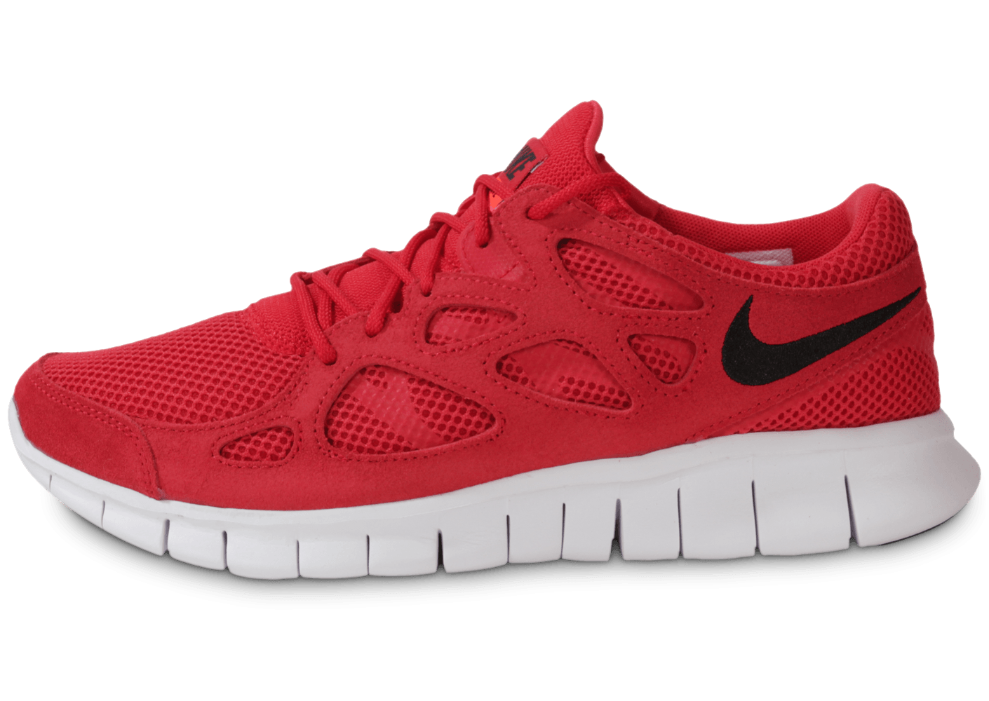reputable site 775a1 ede08 Nike Free Run 2 Rouge - Chaussures Baskets homme - Chausport