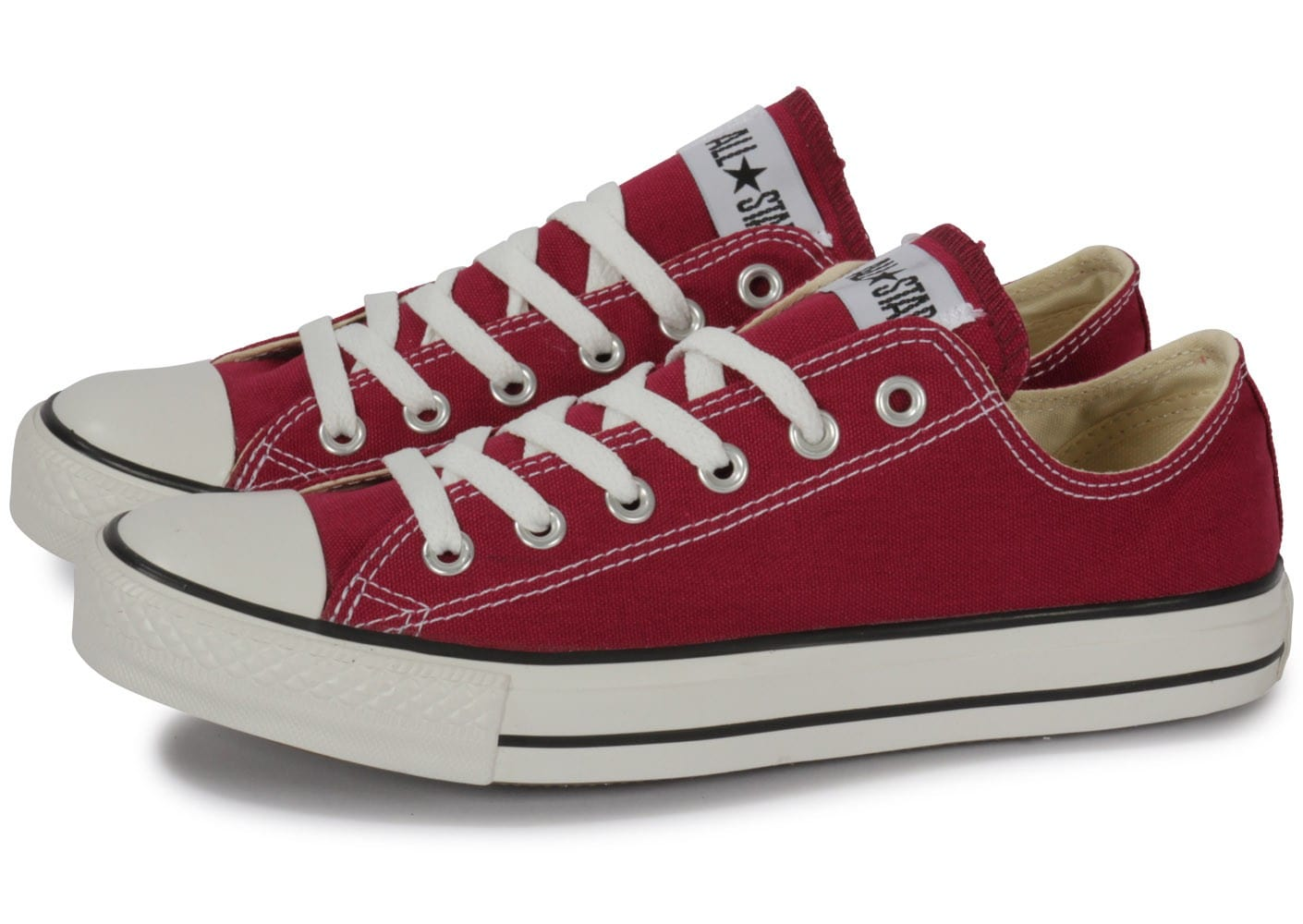 Converse Chuck Taylor All-star Low Bordeaux - Chaussures ...