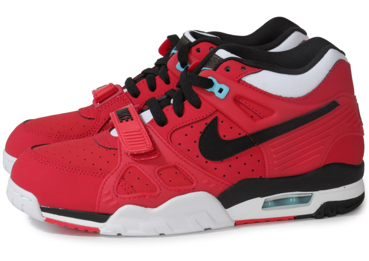 Nike Air Trainer 3 Rouge Chaussures Baskets homme Chausport