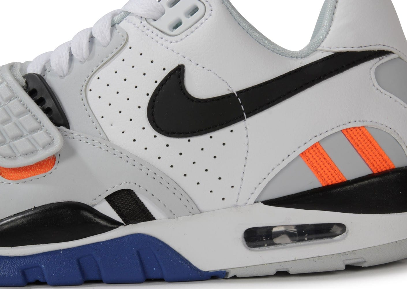 hot sale online 499f8 f1c3f ... Chaussures Nike Air Trainer Sc Ii Low Blanche vue dessus