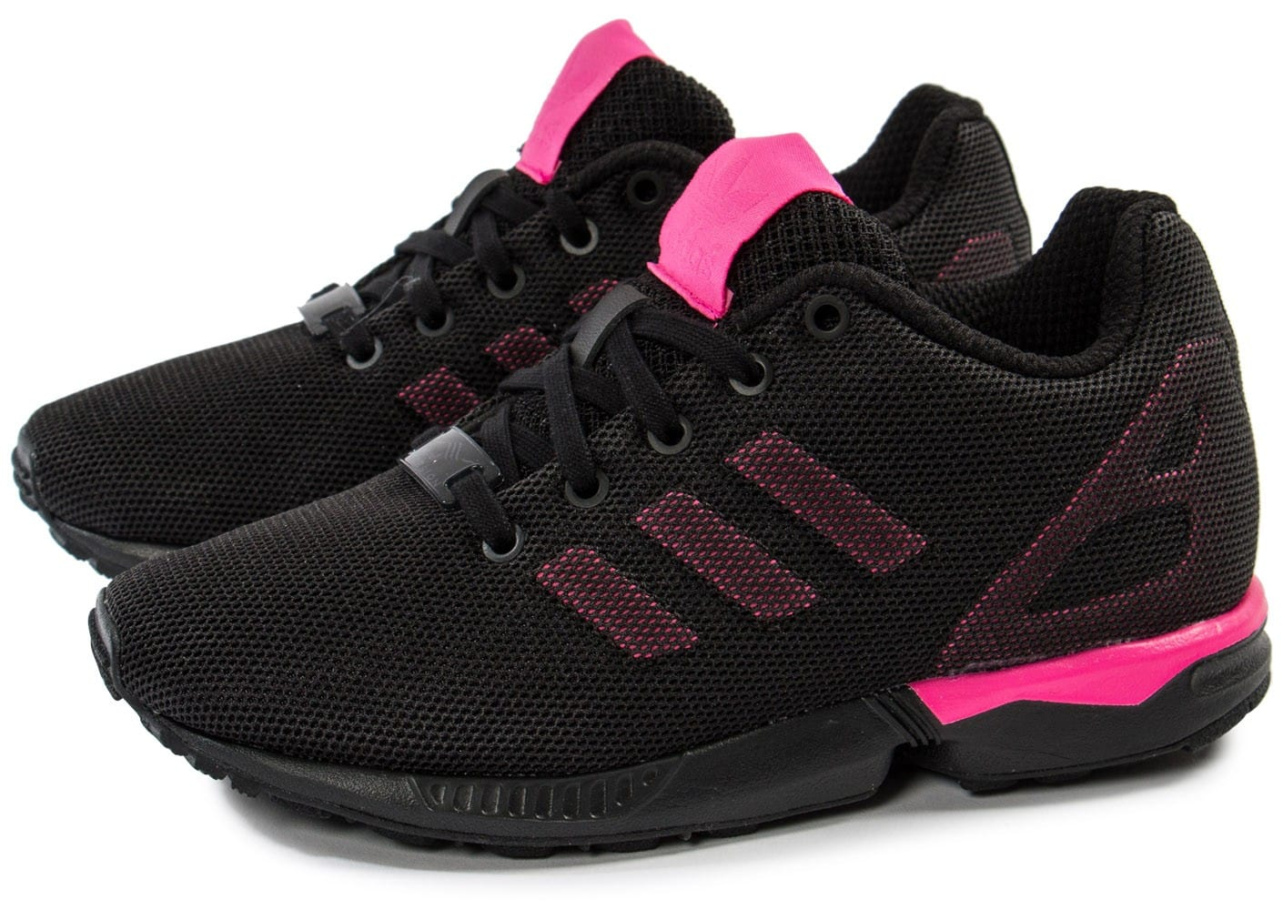 chaussure adidas zx flux rose fluo