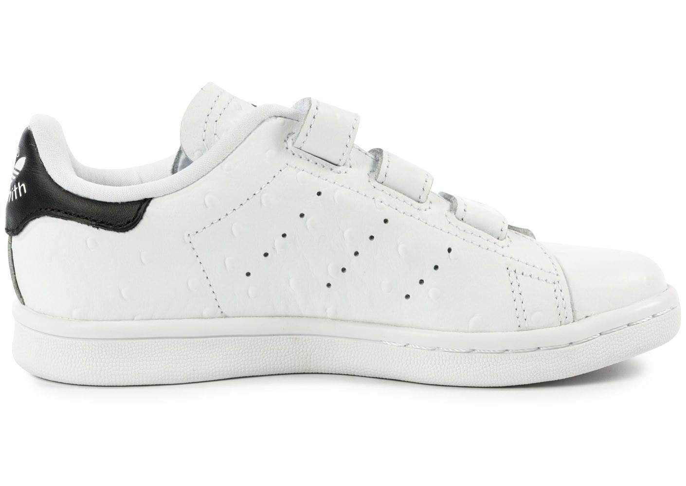stan smith noir a scratch