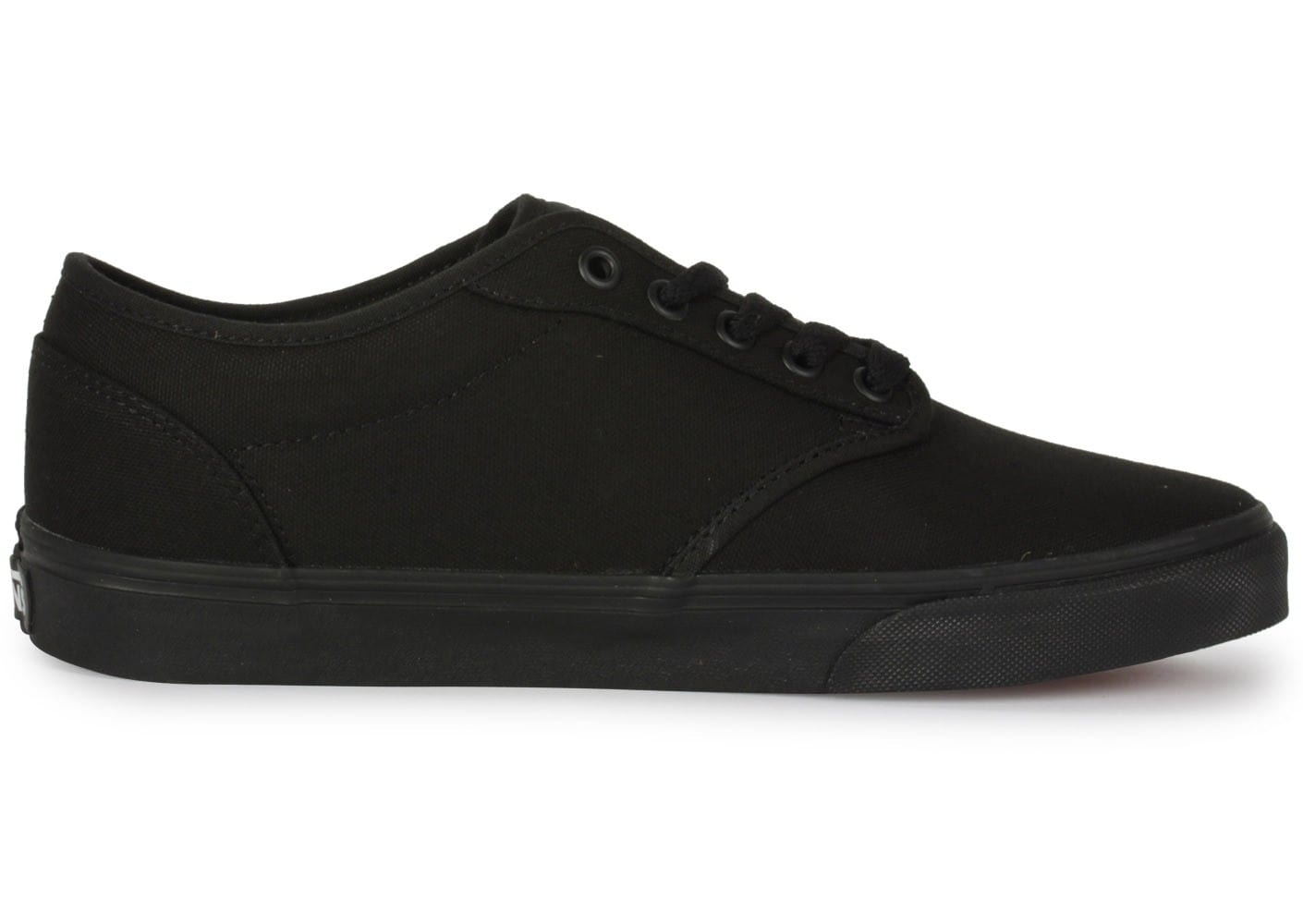 Vans Atwood Toile Noire Chaussures Baskets homme Chausport