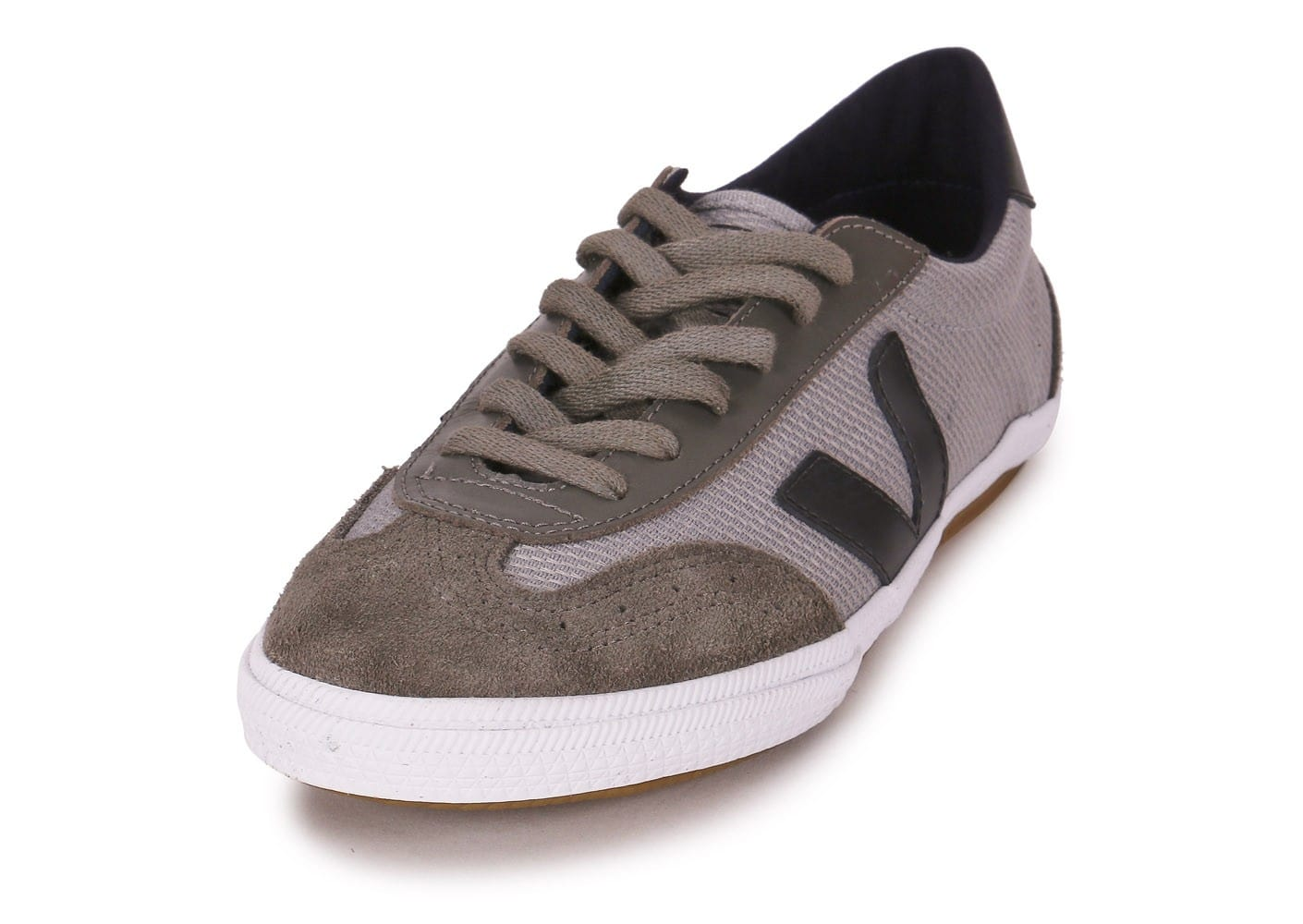 veja volley argent - chaussures baskets homme