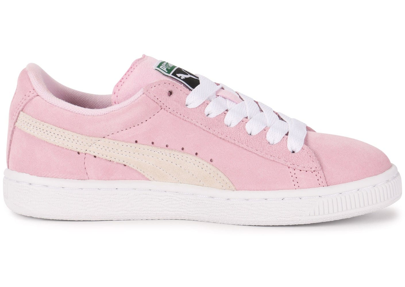 basket suede puma rose
