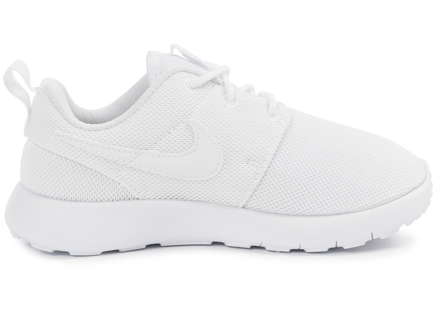 chaussure nike blanche enfant