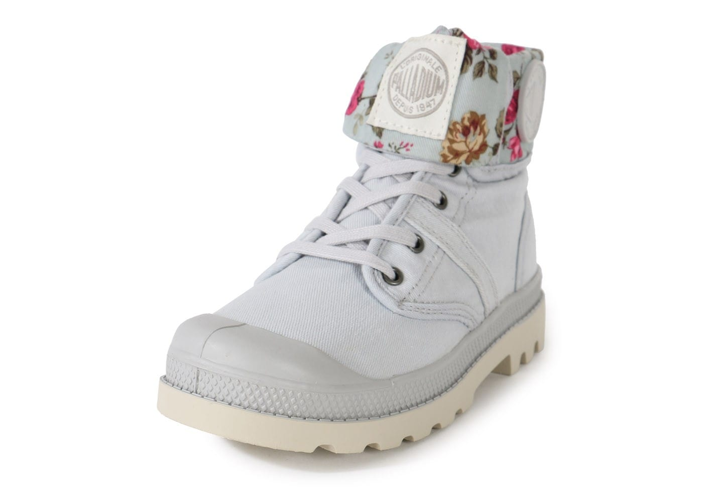 PALLADIUM BAGGY TWL BOOTS FEMME chaussures toile style