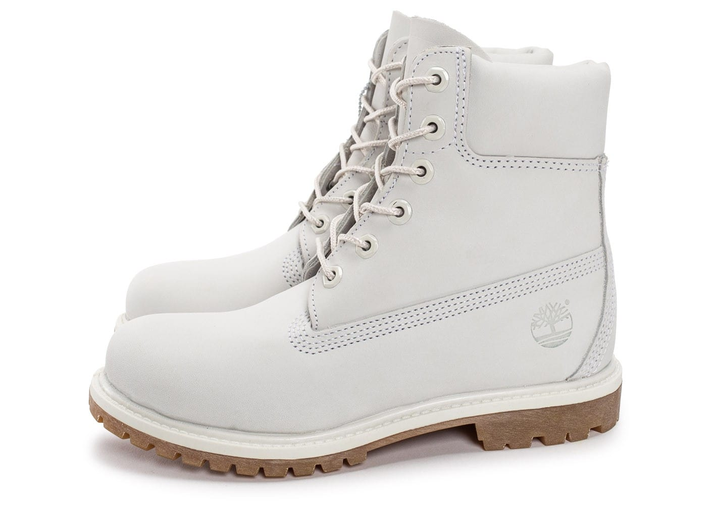 timberland femme blanche