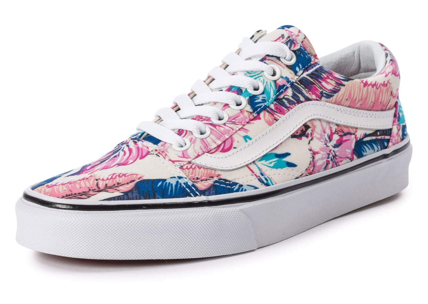 Baskets Tropical Vans R8qrtawx Old Skool Chaussures Femme Chausport UzpqMVGS