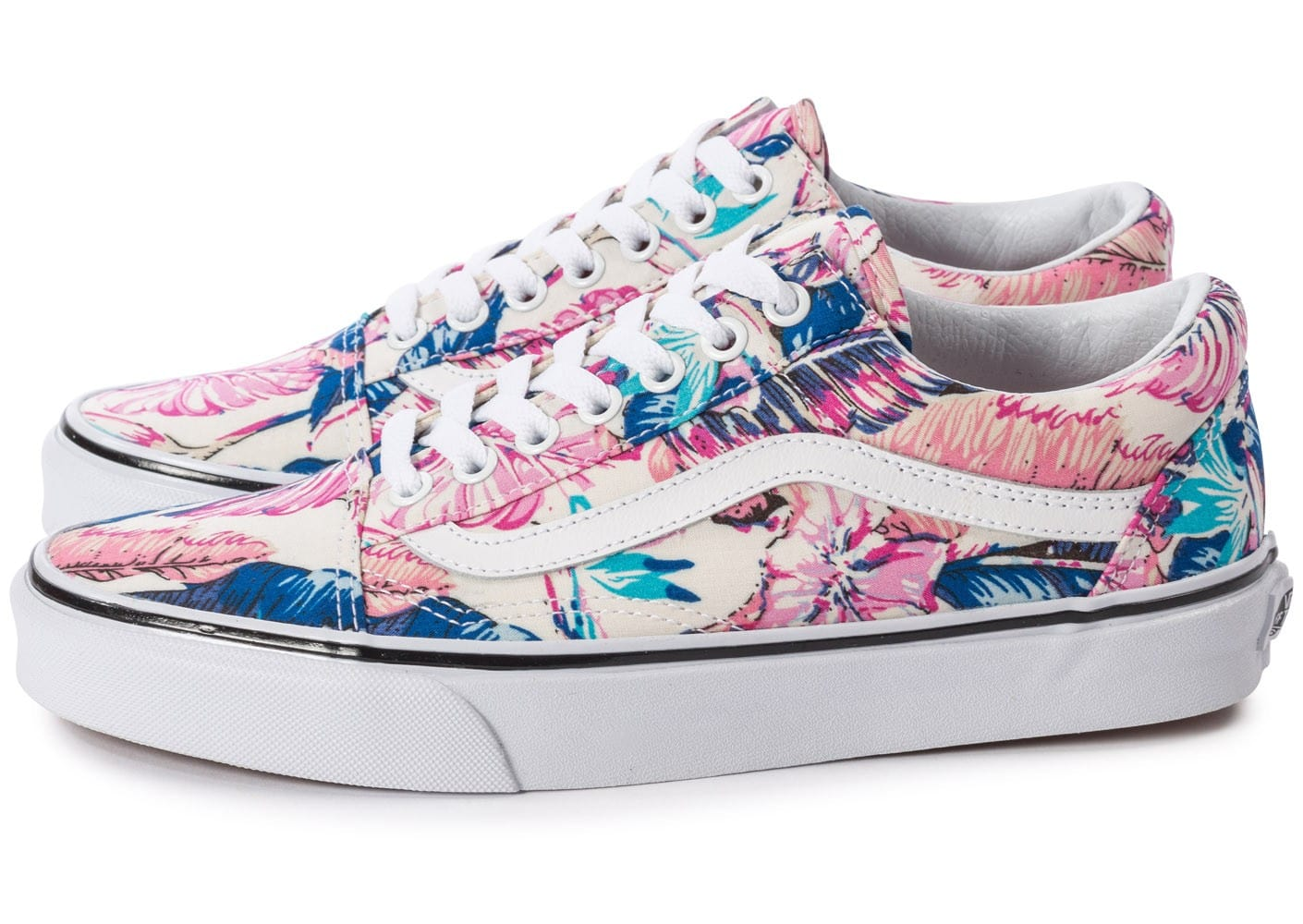 Vans Old Skool Tropical - Chaussures Baskets femme - Chausport