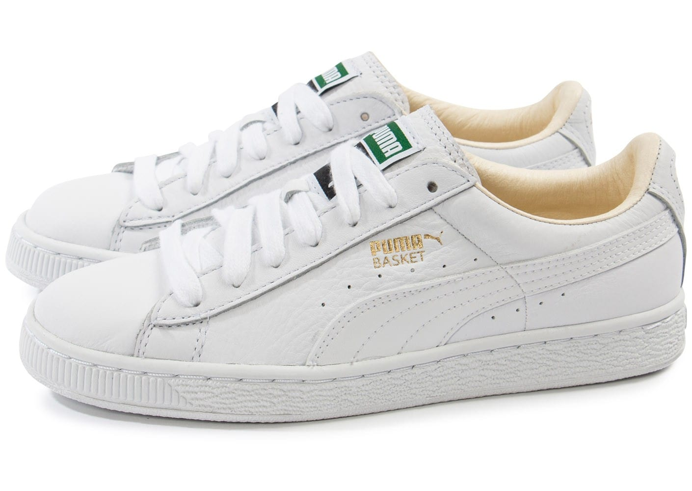 Chaussures Puma Classic blanches Casual homme HO4TQH
