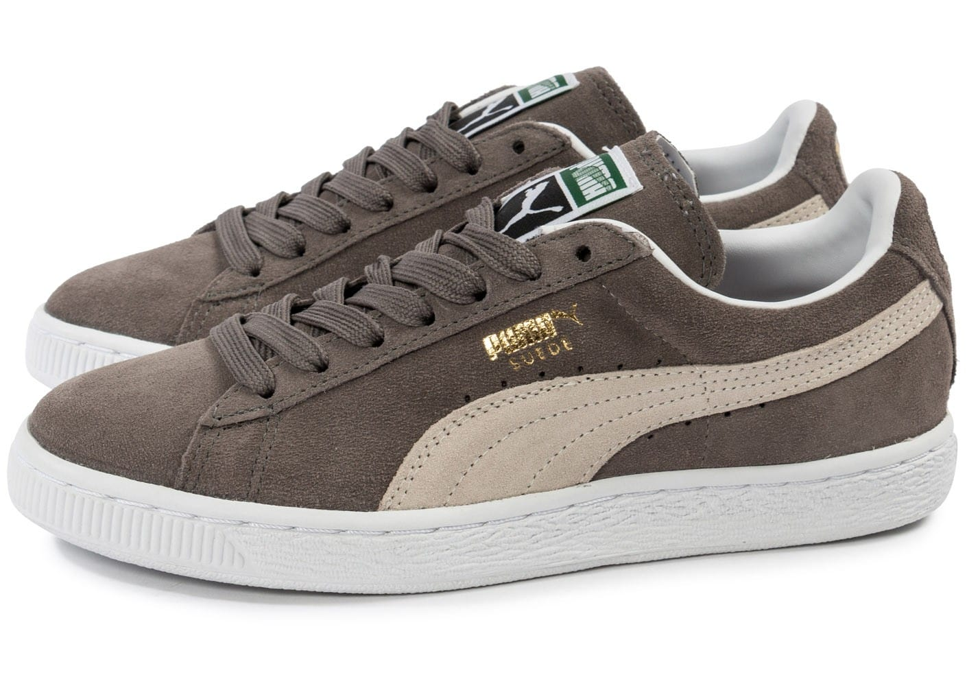 Puma Suede Classic chaussures gris