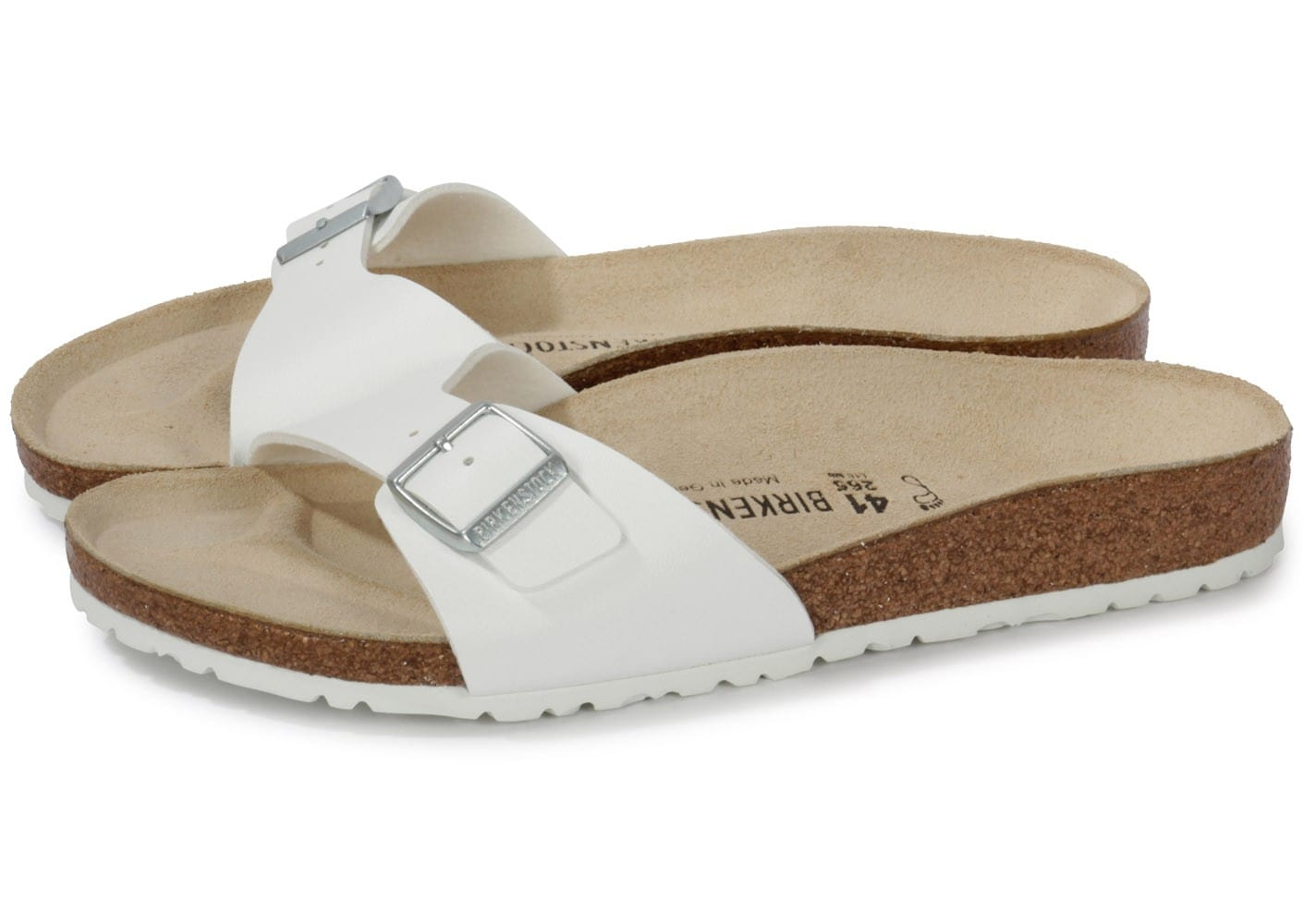 Chaussures Birkenstock Madrid blanches homme 7P5y65PmPr