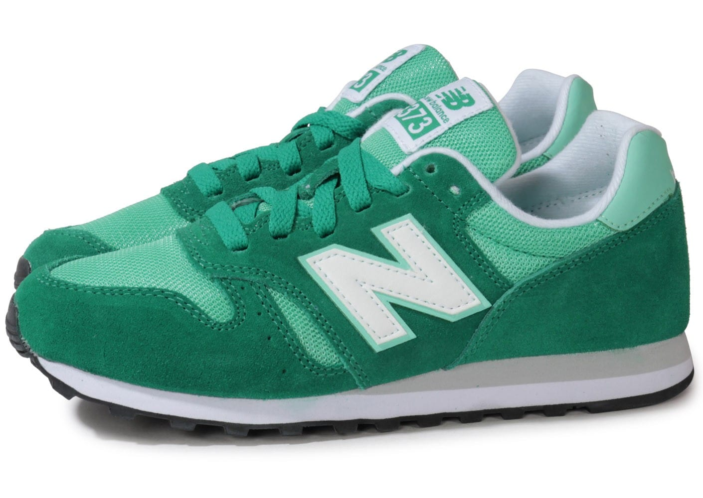 Royaume-Uni disponibilité 5c01d 631cd New Balance Wl373 Smg Frozen Yogurt Verte - Chaussures ...