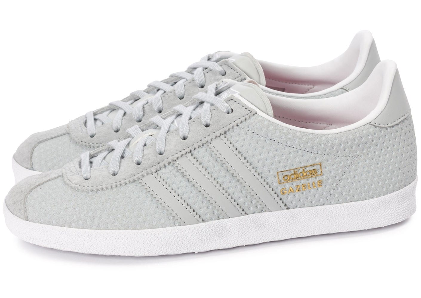 adidas Gazelle OG grise perf Chaussures adidas Chausport