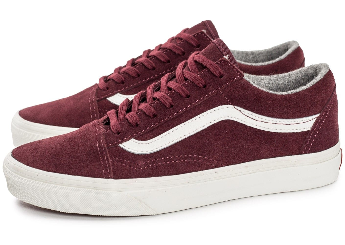 vans bordeaux homme old skool