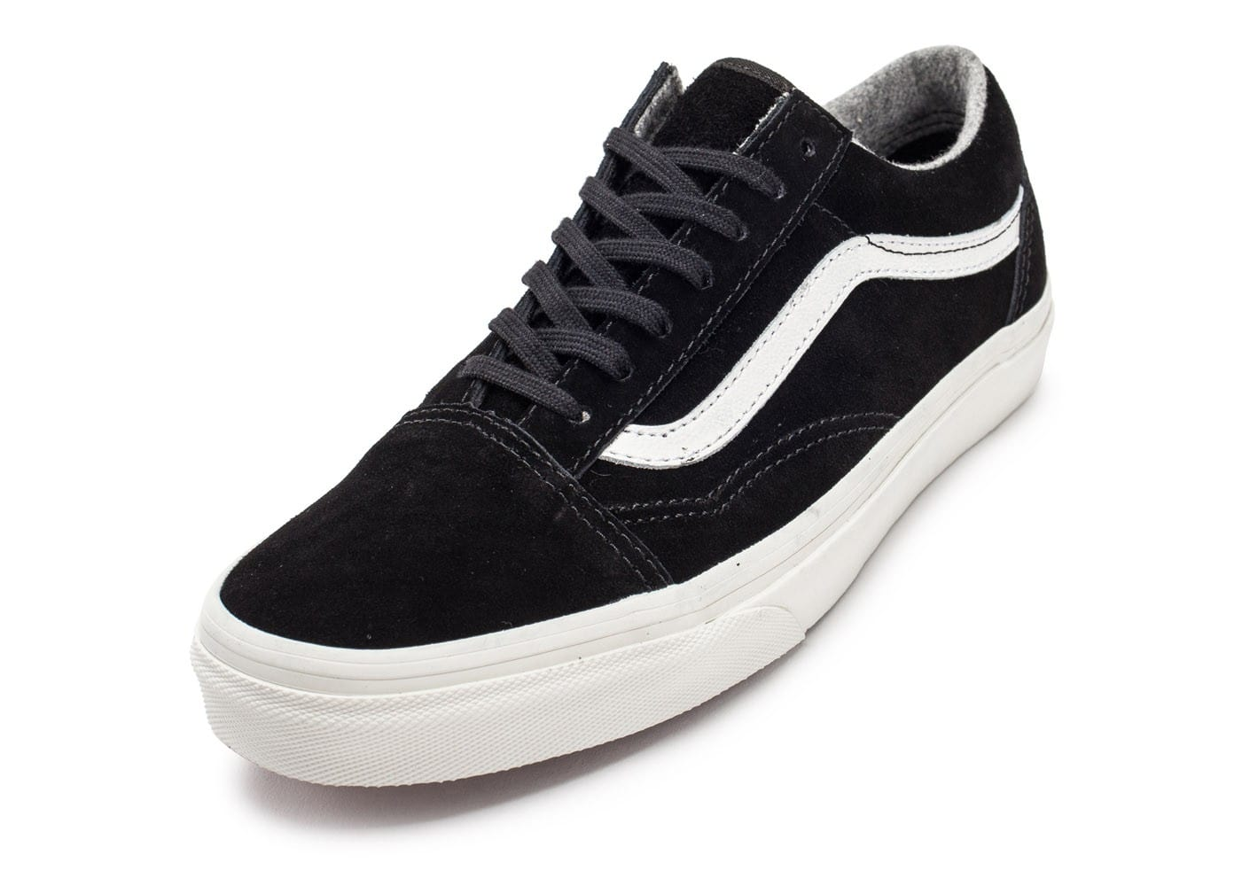vans old skool noir suede