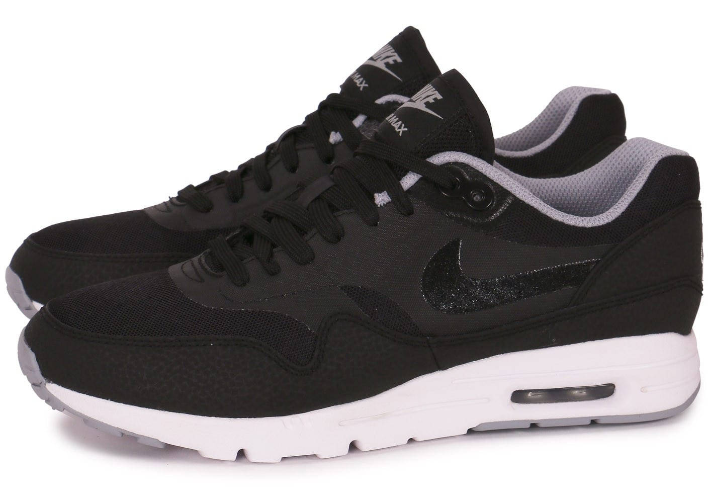 Chaussures Nike Air Max 1 noires Fashion homme