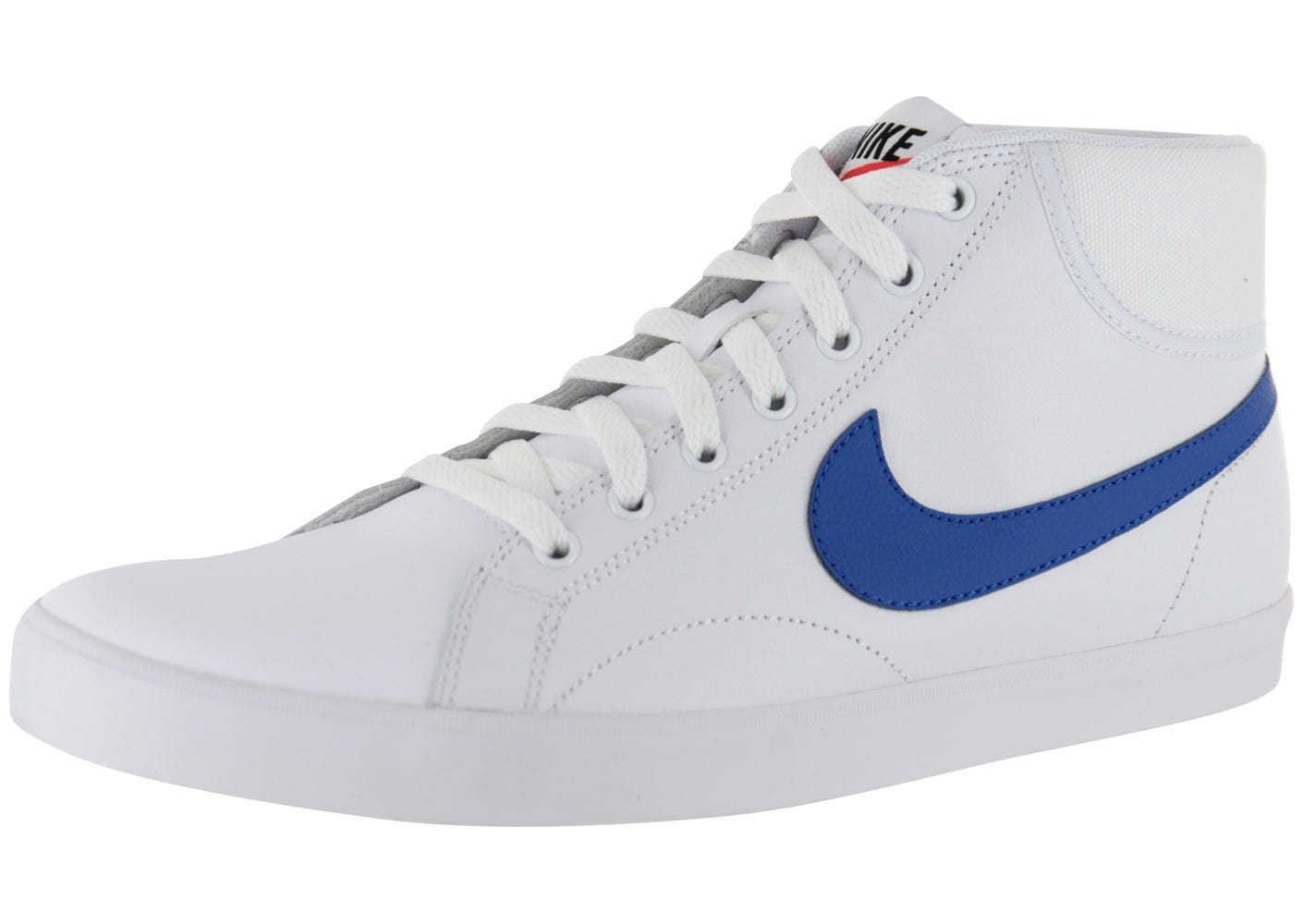 huge sale 2dd8e 1cffd Nike Eastham Mid Blanche - Chaussures Baskets homme - Chausport