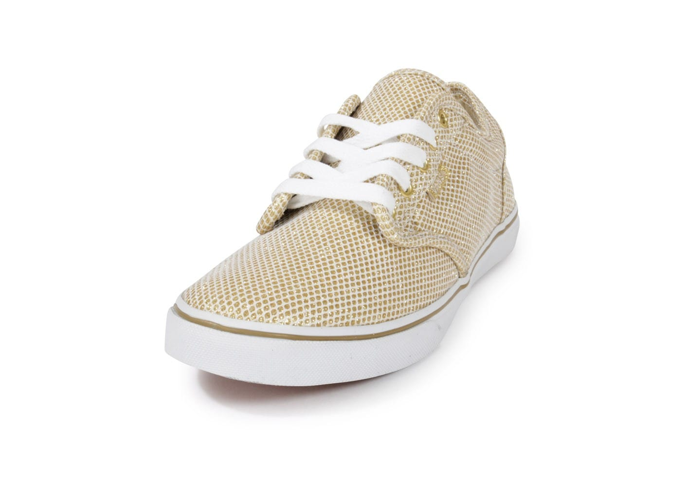 Vans Atwood Paillette Or Chaussures Chaussures Chausport