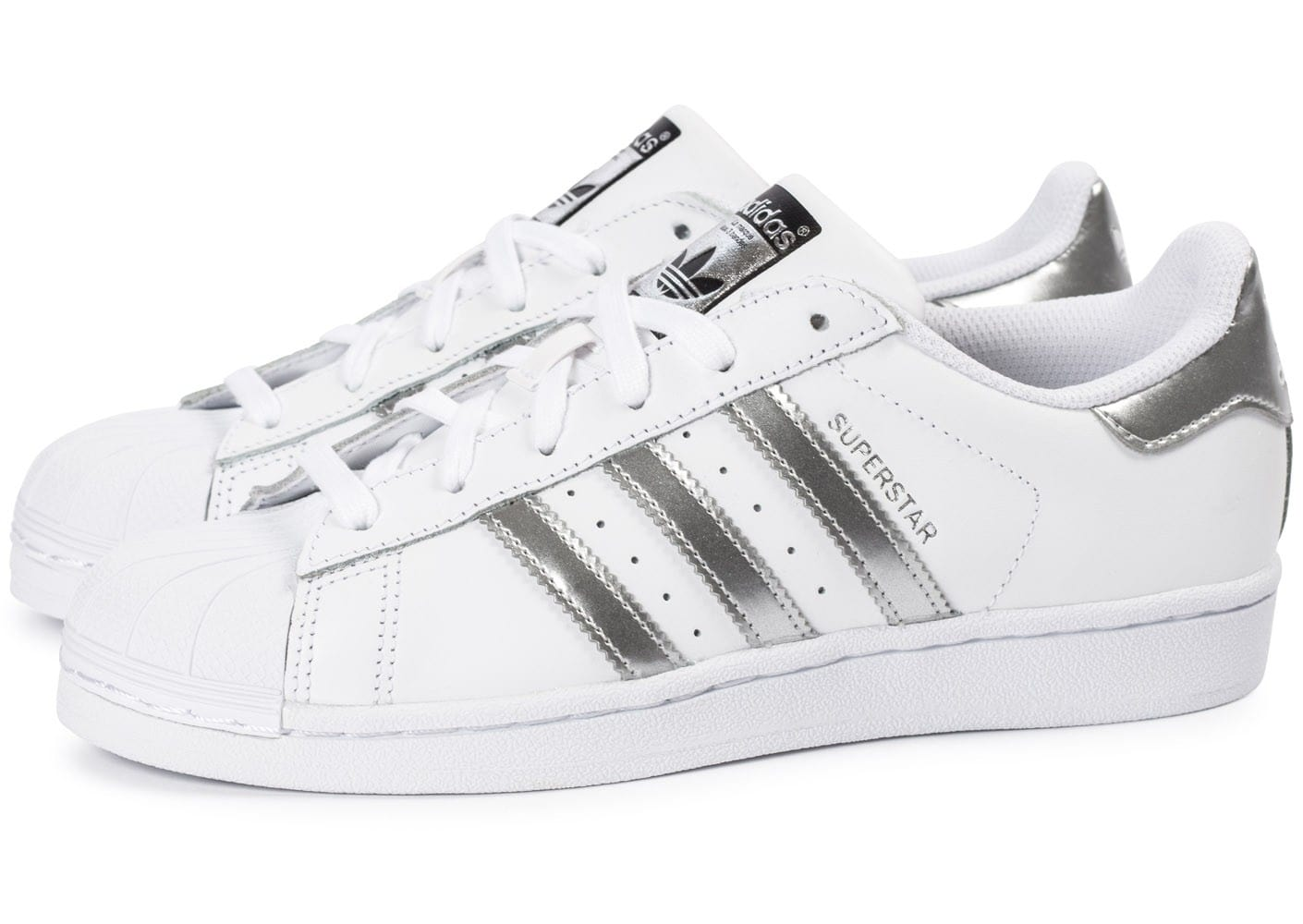 superstar adidas argent