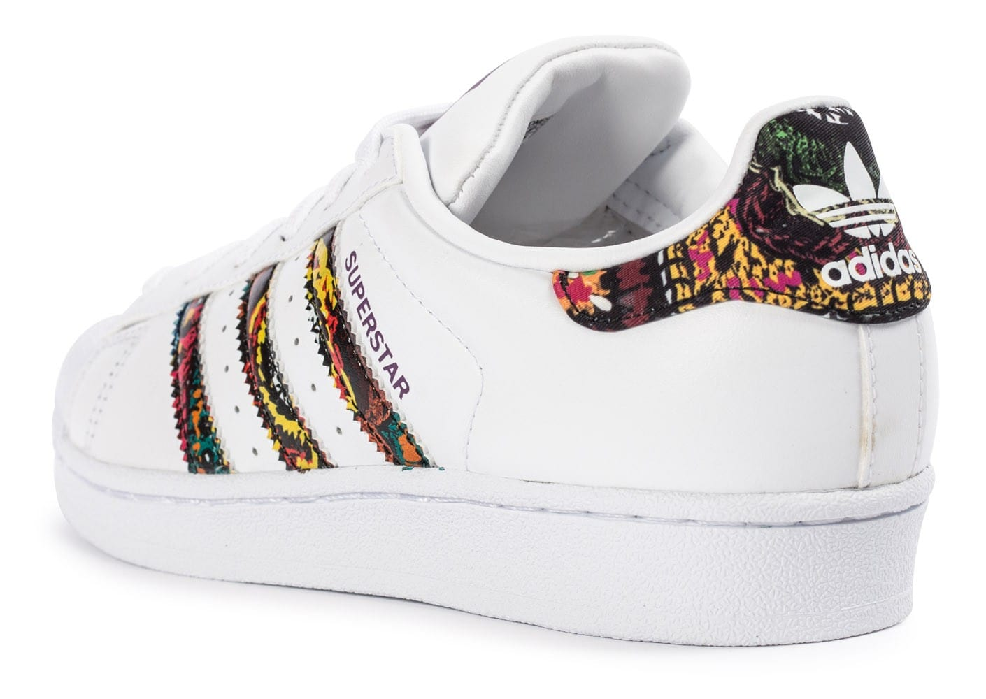 ... Chaussures adidas Superstar Farm Company blanche vue arrière ...