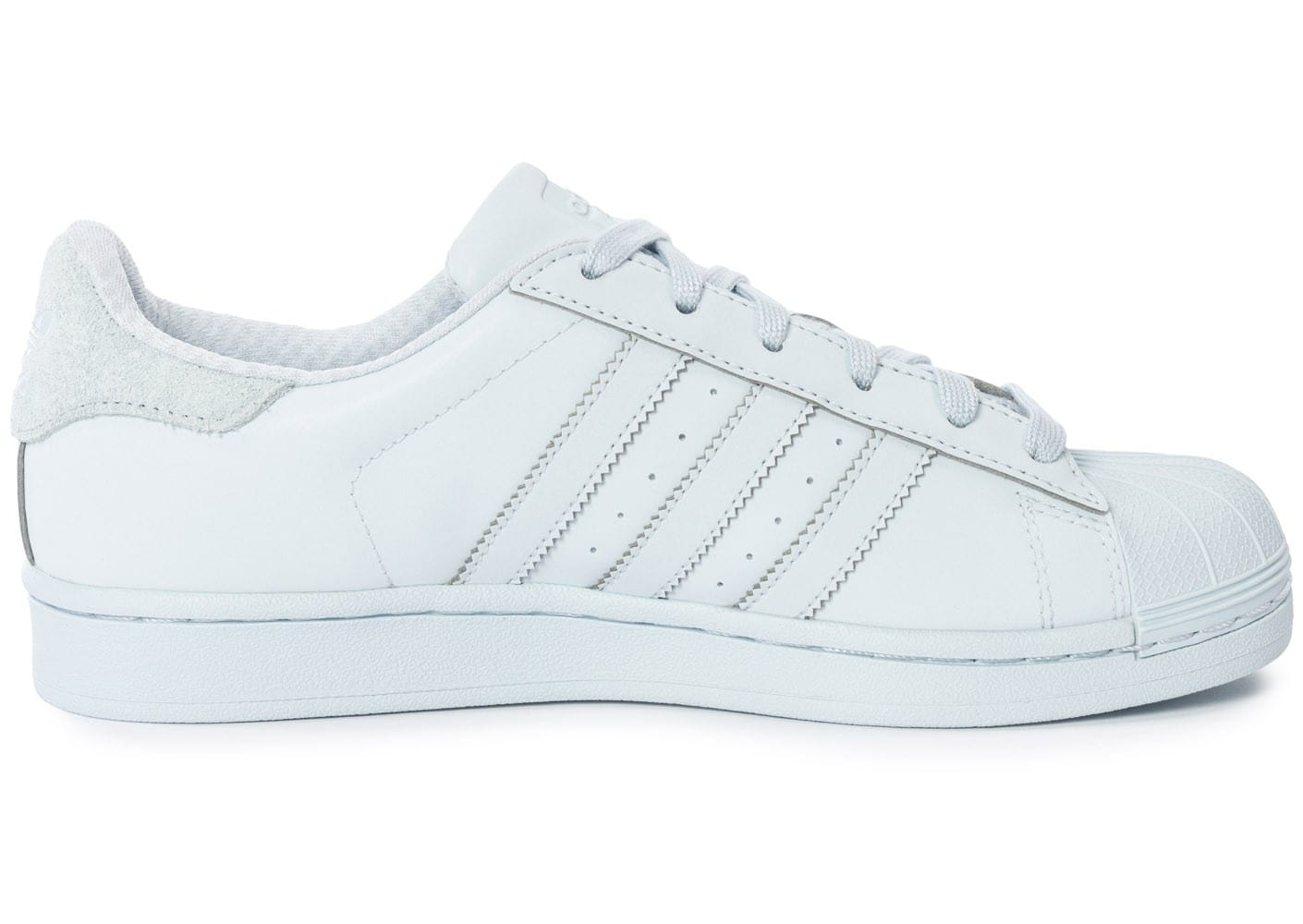 timeless design 0a722 fc5b9 ... order chaussures adidas superstar adicolor halo blue w vue dessous  18628 b68e5