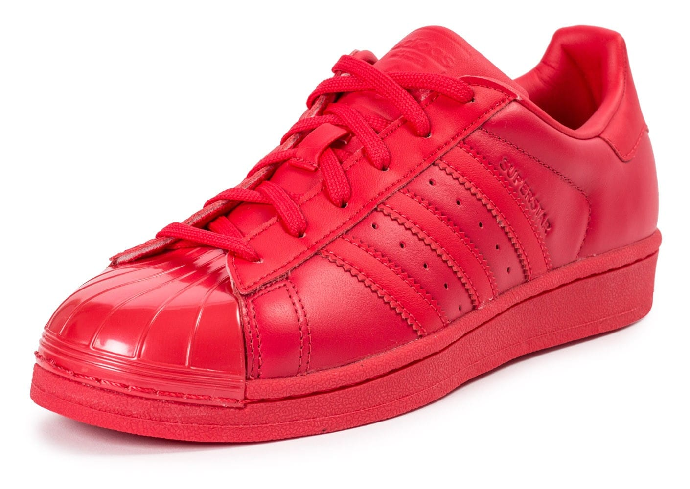 basket adidas superstar rouge