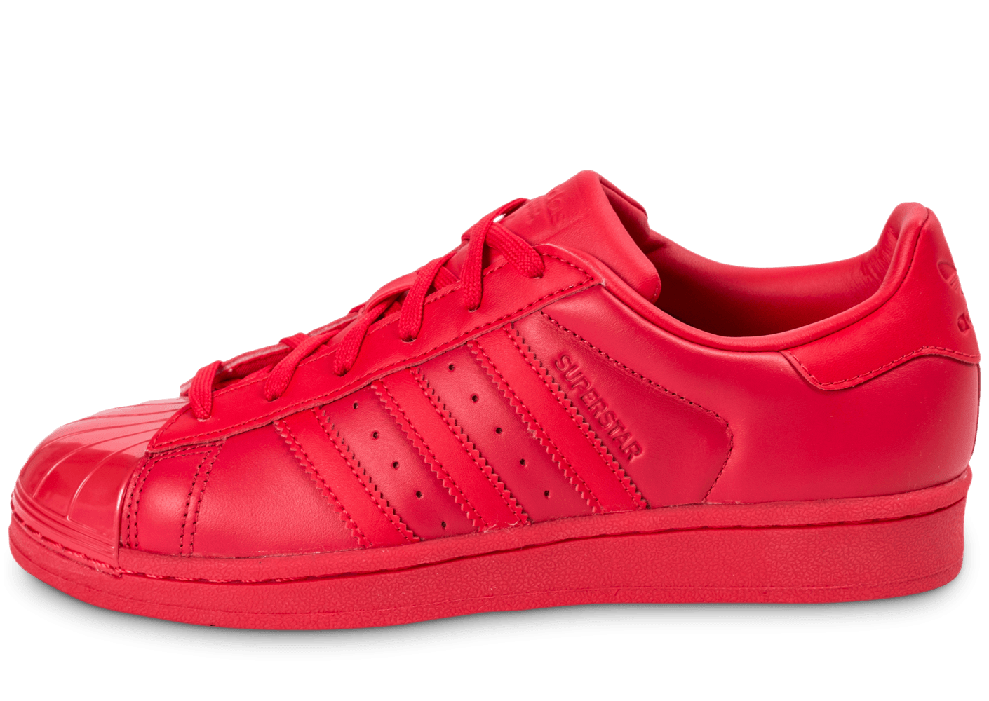 adidas superstar bande rouge