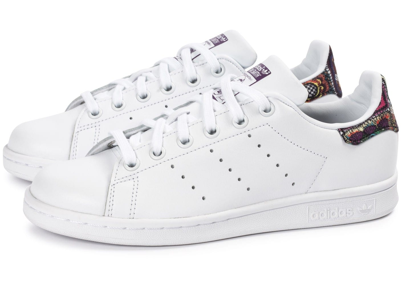 adidas Stan Smith W Flower - Chaussures adidas - Chausport