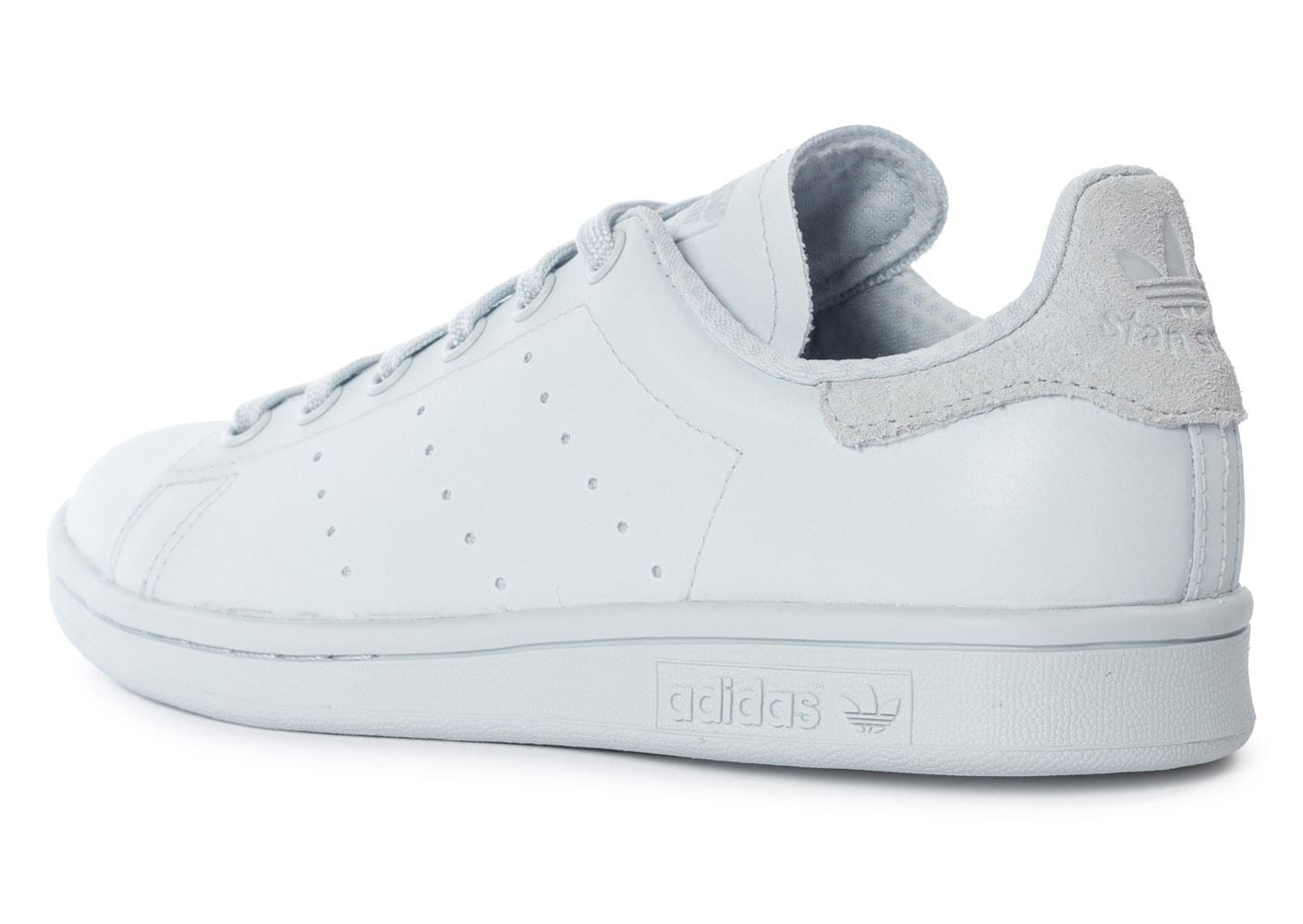 quite nice 7a07a 263a1 ... Chaussures adidas Stan Smith Adicolor W Halo Blue vue avant ...