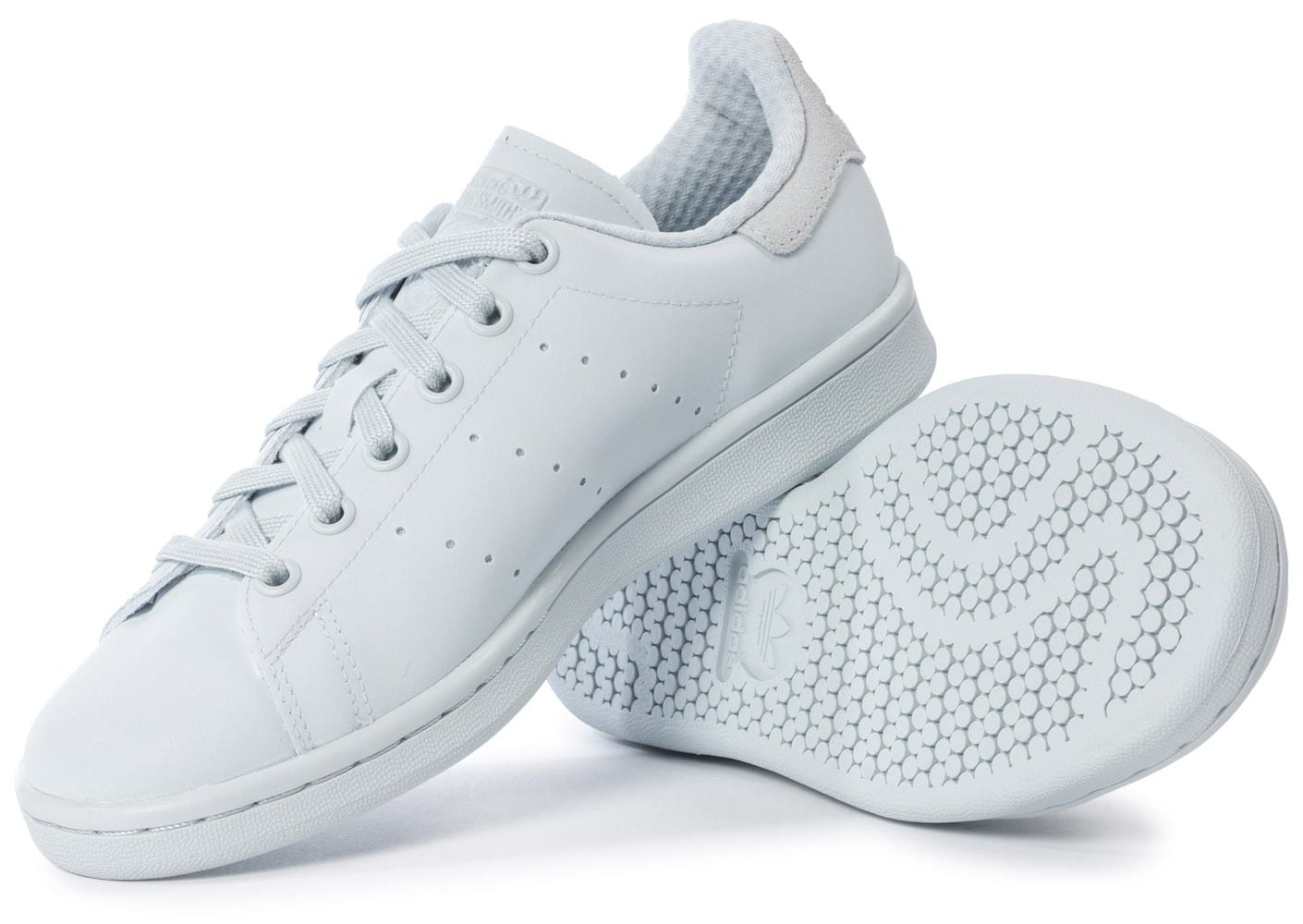 official photos 391ae 7537b ... Chaussures adidas Stan Smith Adicolor W Halo Blue vue intérieure ...