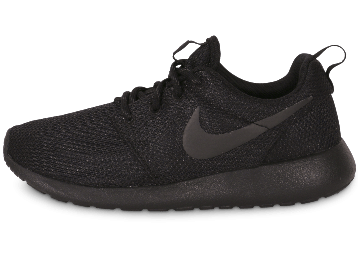 best sneakers fc597 f6d9f Nike Roshe Run Triple Black - Chaussures Chaussures - Chausp