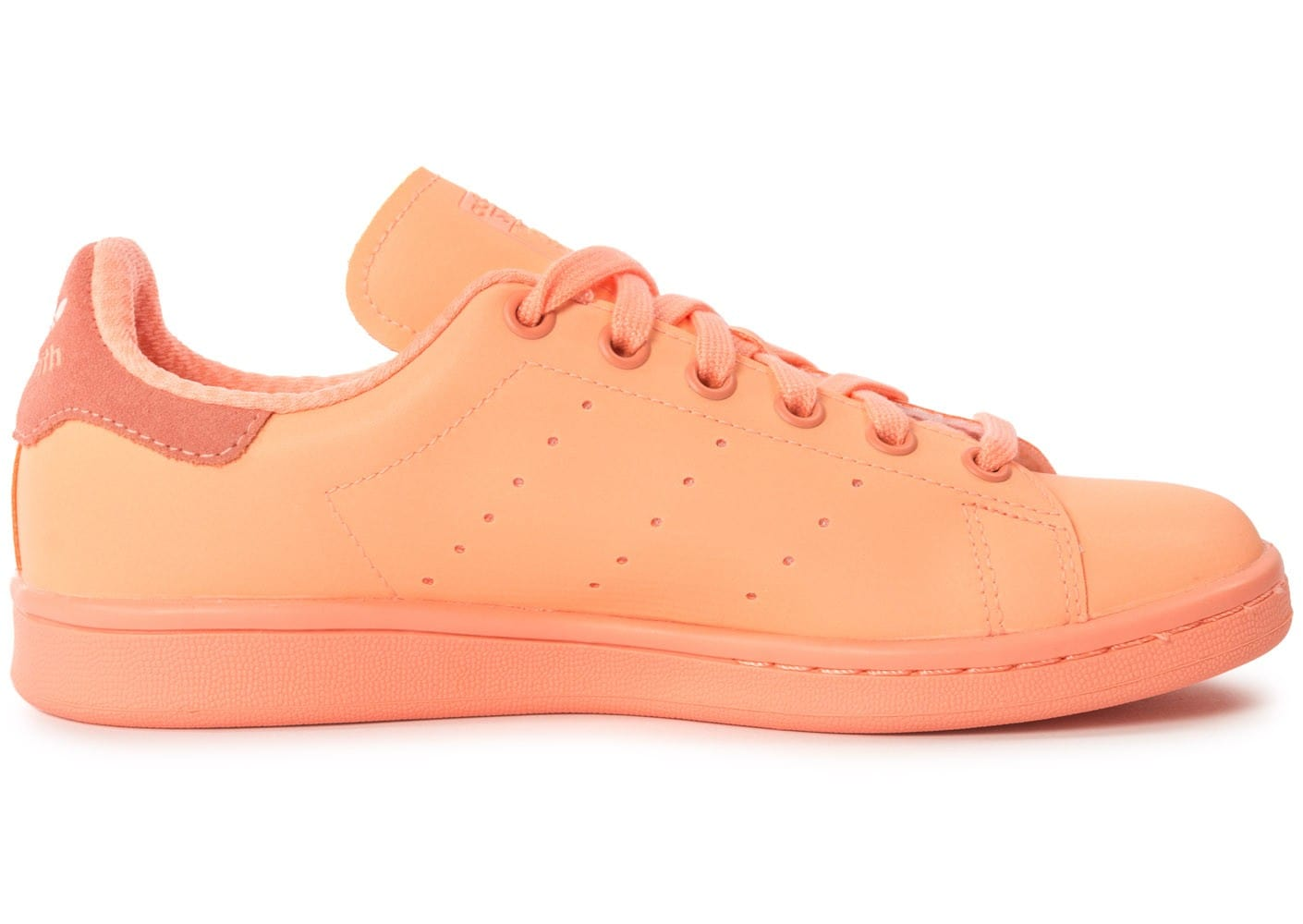 huge discount 14b24 fa40f ... Chaussures adidas Stan Smith Adicolor W Sun Glow vue avant ...