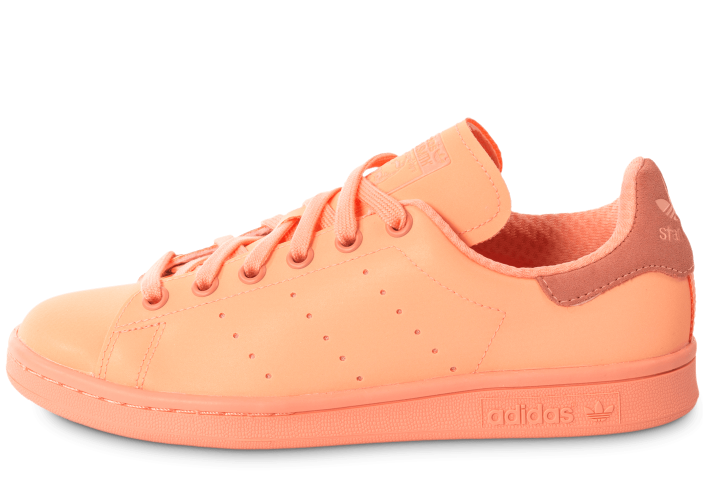 new product f0da5 e90a5 adidas Stan Smith Adicolor W Sun Glow - Chaussures adidas - Chausport