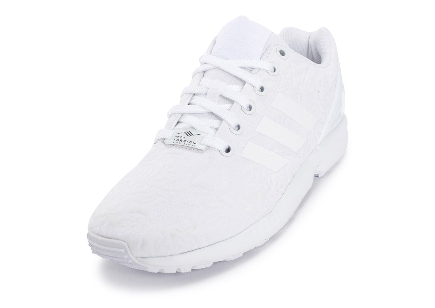 adidas Zx Flux 3D Tropical Blanche Chaussures adidas