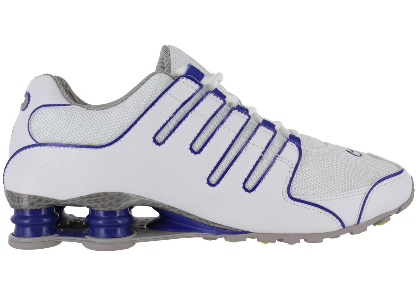 low priced ed68f d3213 ... where to buy shox blanche baskets chaussures nike homme chausport nz  vqwdves 1fd6b d1718