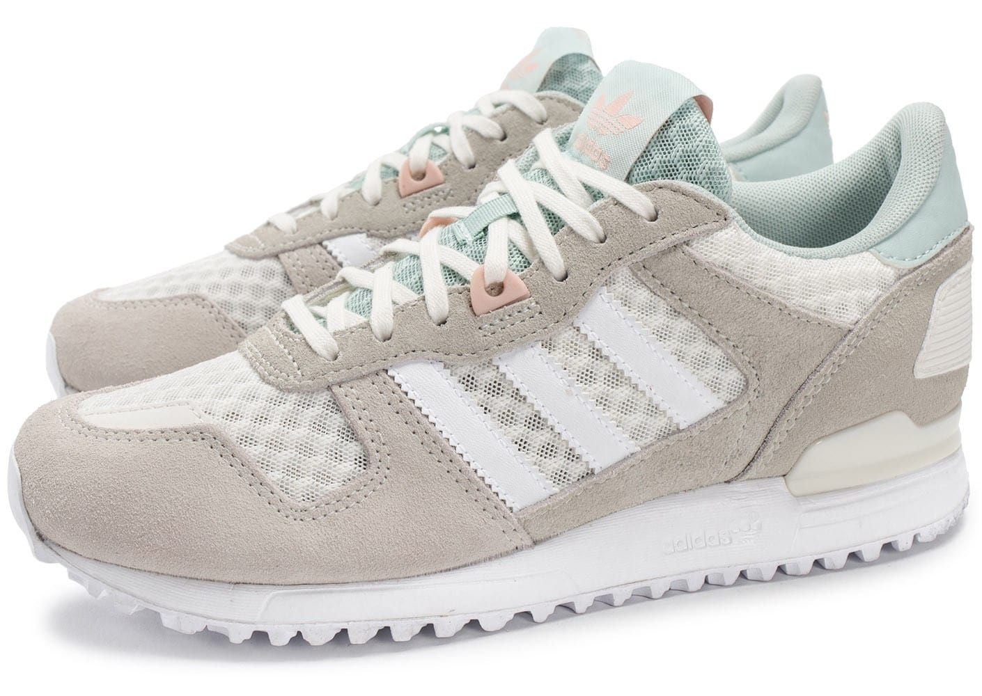 adidas Zx Zx Zx W grise et blanche Chaussures adidas