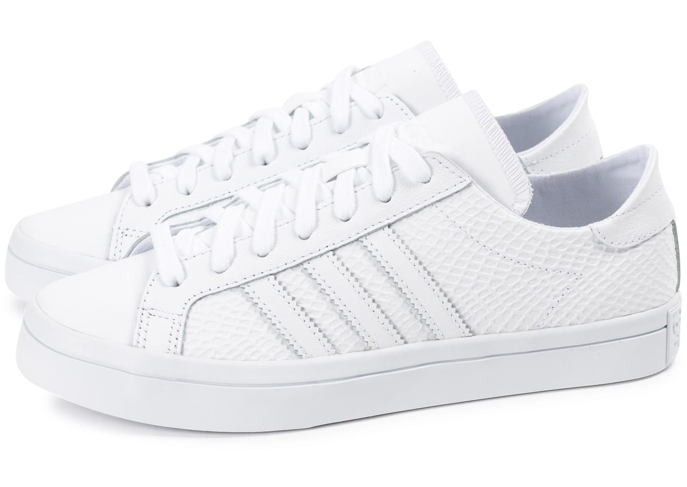 adidas Court Vantage Snake blanche - Chaussures adidas ...