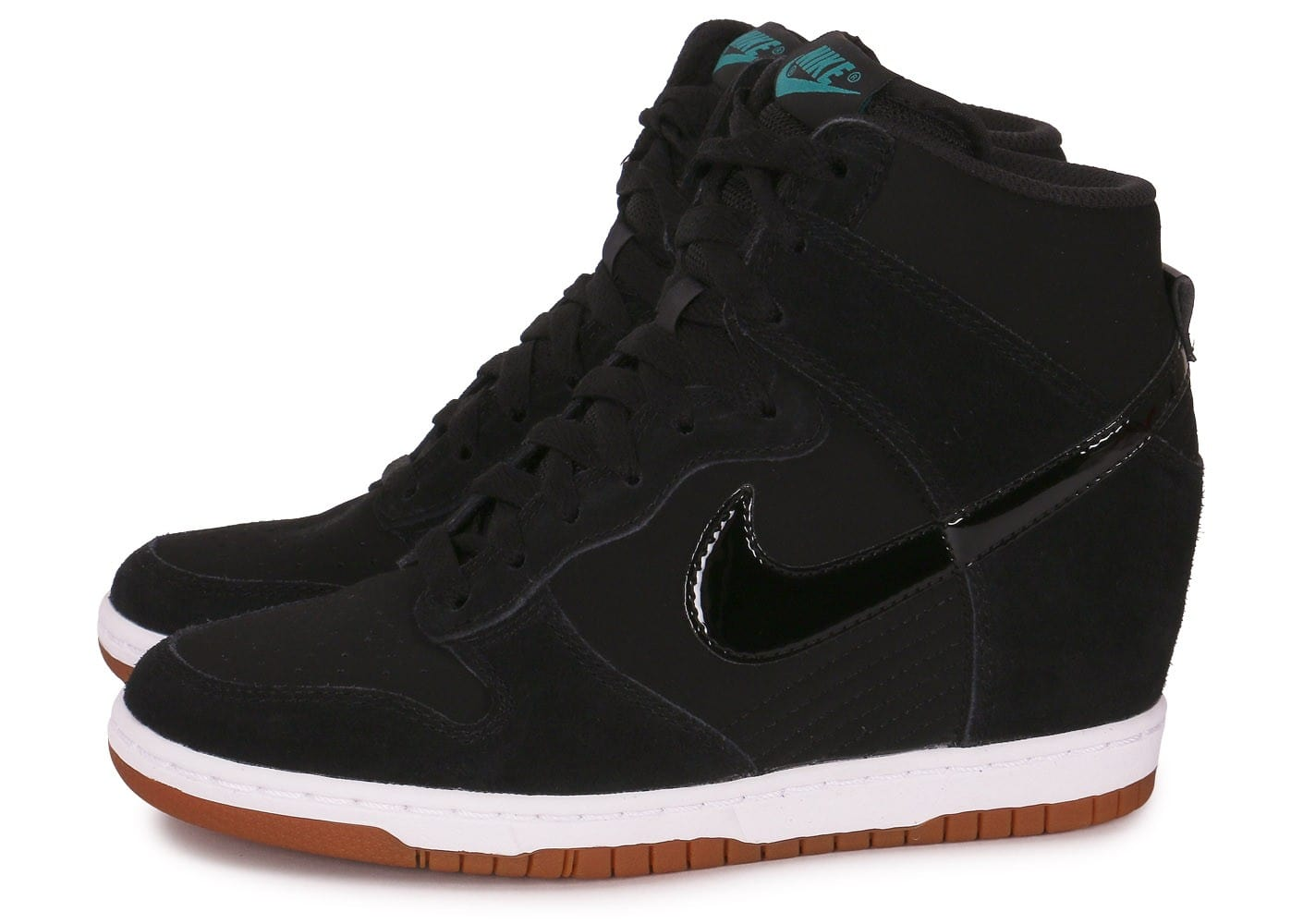Nike Dunk Sky Hi Essential Black Gum Chaussures Chaussures