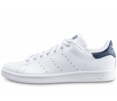 Chaussures adidas Stan Smith blanche et bleue