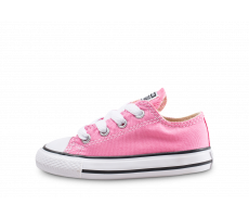Chaussures Converse Chuck Taylor All Star Low bébé rose
