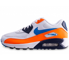 Chaussures Nike Air Max 90 Essential bleu et orange