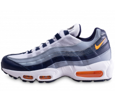 Chaussures Nike Air Max 95 SE bleue et orange