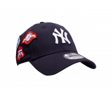 Accessoires New Era Casquette NY Cooperstown Patched 9Forty bleue marine